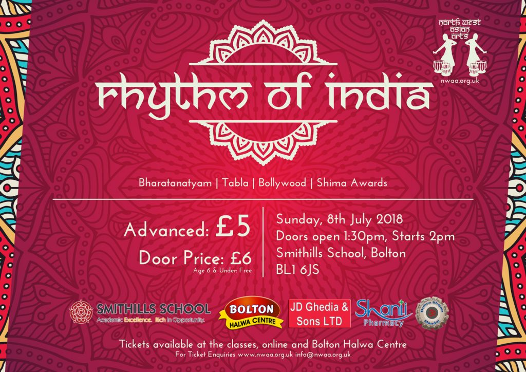 Rhythm of India 2018 Poster